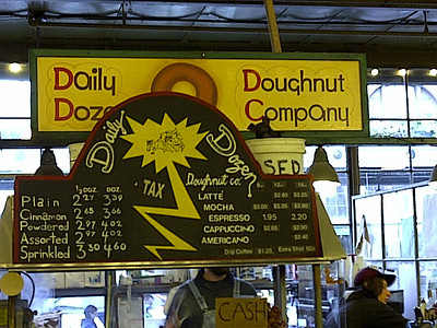 Daily Dohzen - another popular doughnut house.