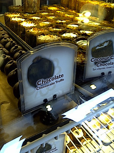 handcrafted chocolates at the Confectional.