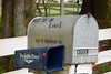 Cullen Mailbox in front of the inn