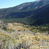 Looking into a valley from Tioga Pass Rd
