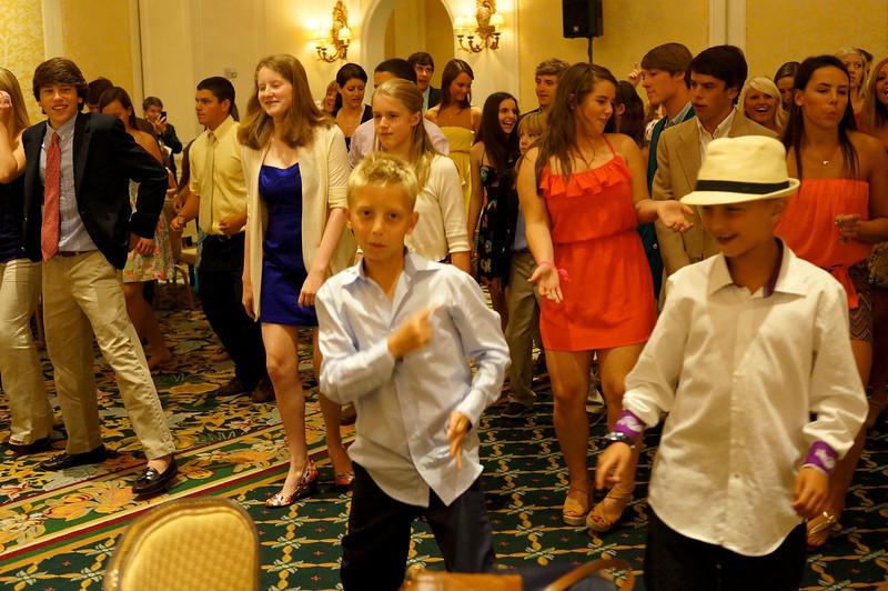 Dancing after bingo