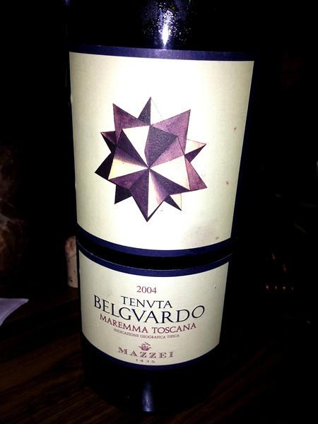 Great wine at Tavola