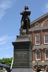 Statue of Samuel Adams