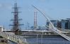 Famine ship, the Jeanie Johnston  in Dublin