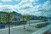 Irish harp-Samuel Beckett Bridge over the River Liffey
