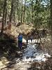 Hiking up to Treasure Falls