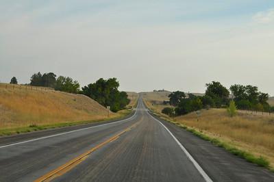 Driving to South Dakota
