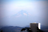 Mt. Hood and Portland from Japanese gardens
