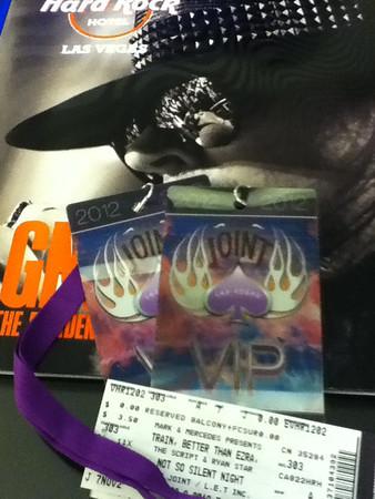 2012 Trip to Vegas for Train Concert (nov)