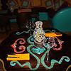 Las Estrellas is Moroccan-Mexican fushion -- it has some really cool tables and artwork.
