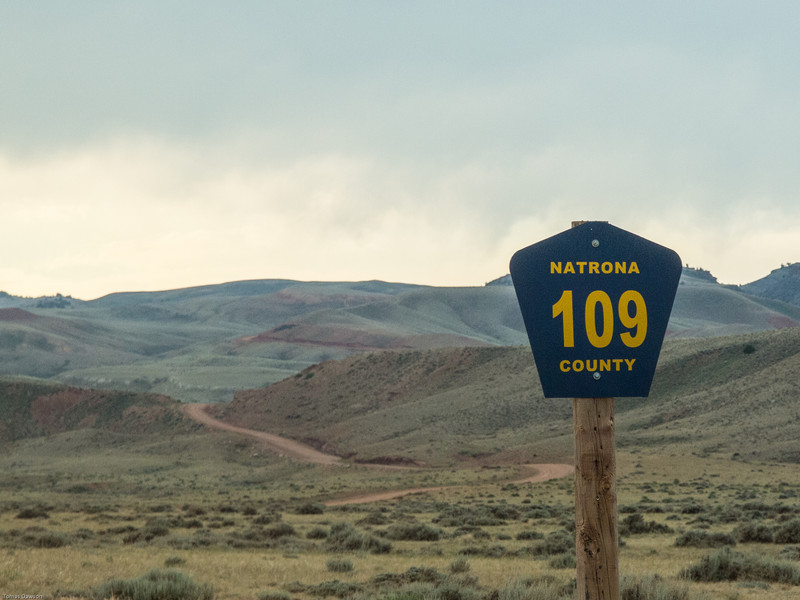 County Rd 109<br /> The start of the climb into the mountains