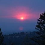 Wyoming Bighorn Adventure - Day 2 Smokey sunset