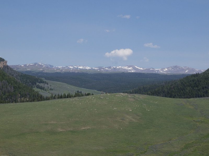 Wyoming Bighorn Adventure - Day 2<br /> First view of the Bighorns