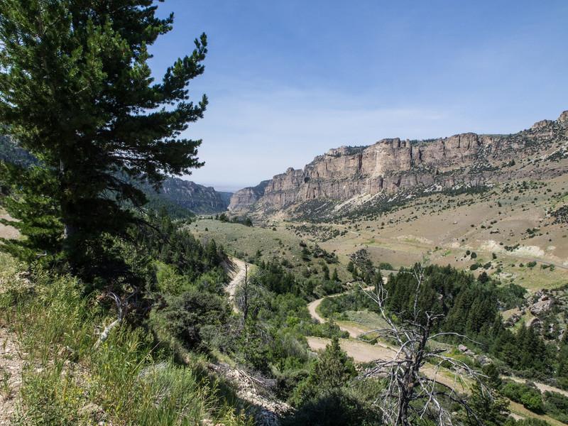 Wyoming Bighorn Adventure - Day 2<br /> Ten Sleep Canyon