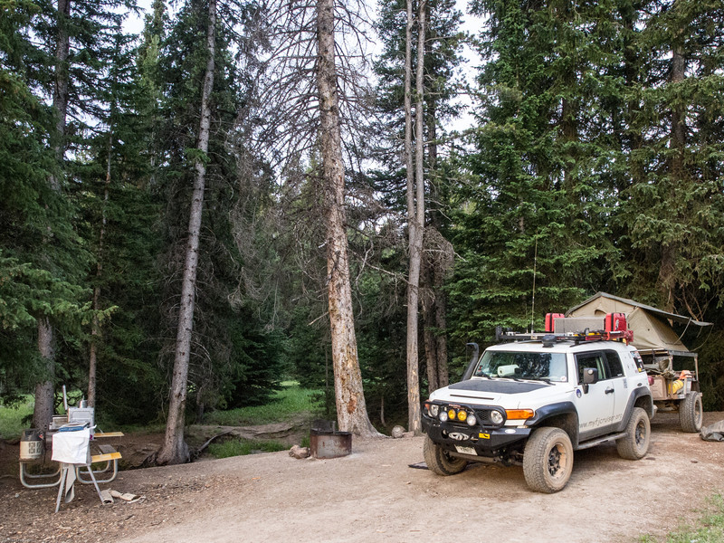 Wyoming Bighorn Adventure - Day 2<br /> Buffalo Creek Campground