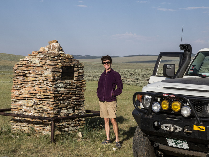 Wyoming Bighorn Adventure - Day 2<br /> Monumnent to the historic sheep herders