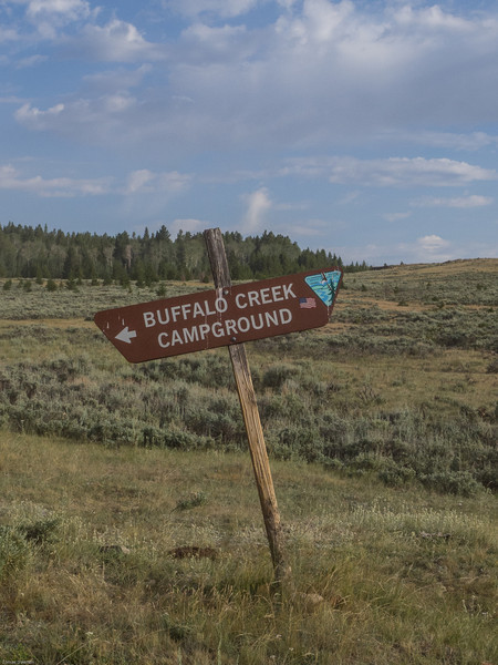 Wyoming Bighorn Adventure - Day 2<br /> Buffalo Creek Campground