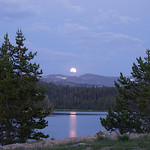 Bighorn Mountains Day 3 Moon rise