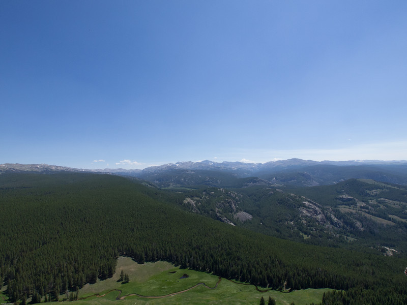 Bighorn Mountains Day 3<br /> WIde angle shop of Cloud Peak