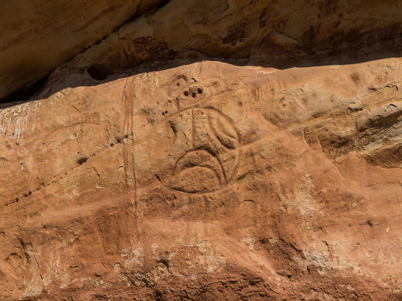 Bighorn Mountains Day 3<br /> Rock art