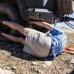 Bighorn Mountains Day 3 Fixing the flat
