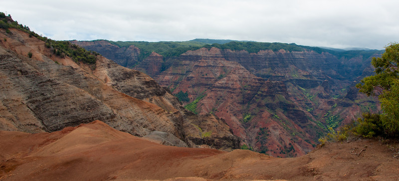One of the overlooks into the canyon.