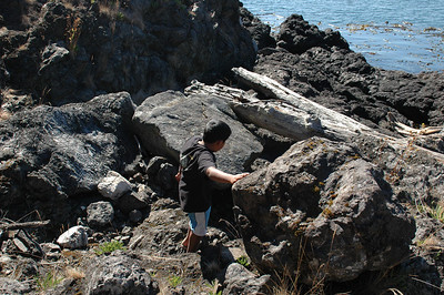 Whale Watching Point at Lime Kiln State Park, Friday Harbor, WA