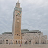 The Hassan II Mosque. 5th largest in the world.