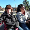 Susan and Lee in the back of the jeep as our tour begins.
