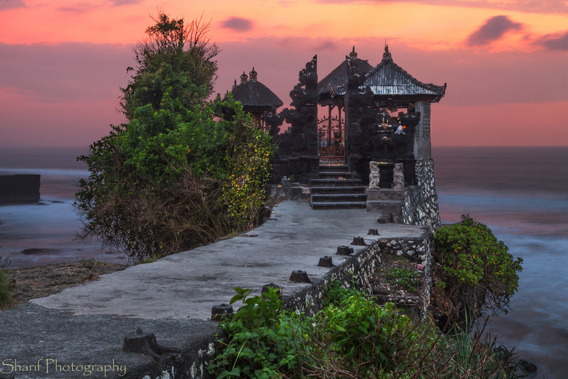 Temple by the sea