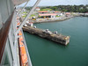 717 Leaving the Gatun Locks