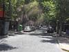 121 A cobblestone street in Santiago