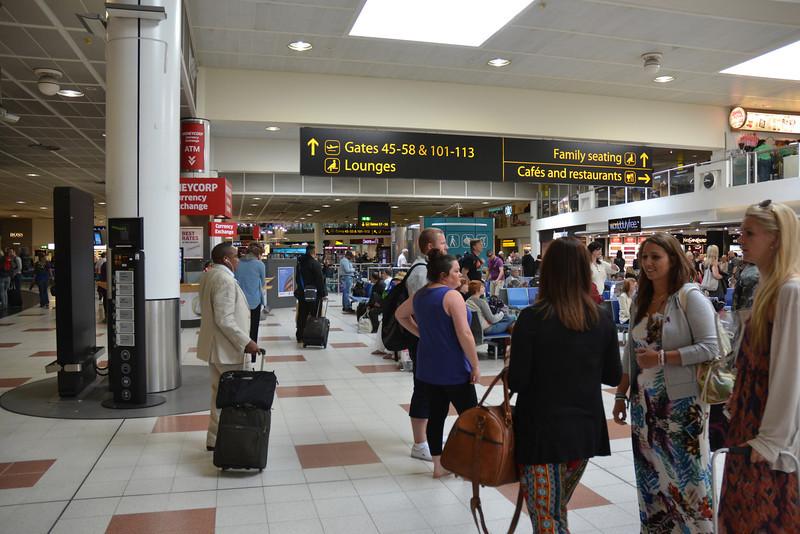 Gatwick airport, England