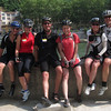 Paul and Christine (from Wisconsin), Dave and Barby from Missouri were our riding pals.  Barby was our navigator and Paul/Christine paced us up Mt. Ventoux.  A great time with some great people....