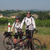 Rolling hills in Burgundy