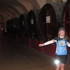 A wine cellar we visited; the largest in Burgundy.  It was HUGE as they interconnected independent caves that were built over the centuries.