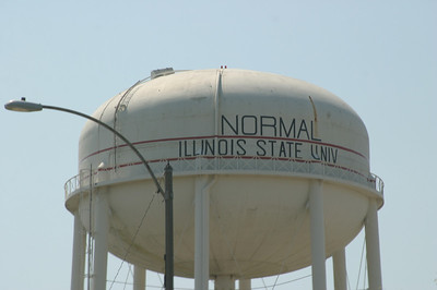 Shot of the Normal water tower.