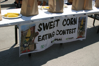 The annual Sweet Corn Eating Contest