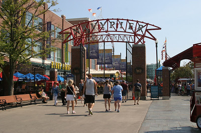 Entrance to the Navy Pier