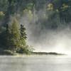 Morning mist on Loon Lake
