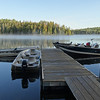 Dock at Loon Lake Lodge