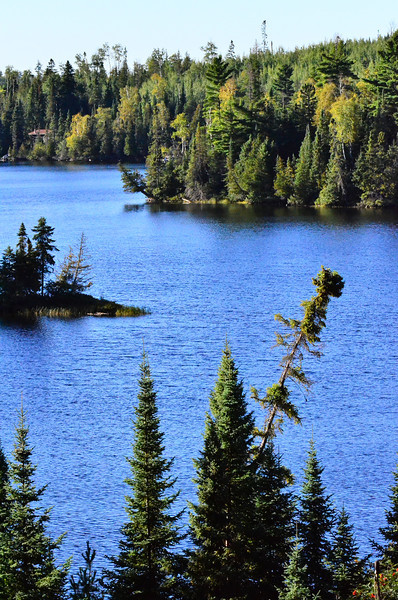 Loon Lake, taken from road on return from Crab Lake Trail, Sept. 2013