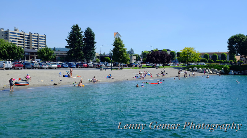 Coeur d'Alene city beach