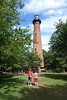 Visiting the Currituck Lighthouse.