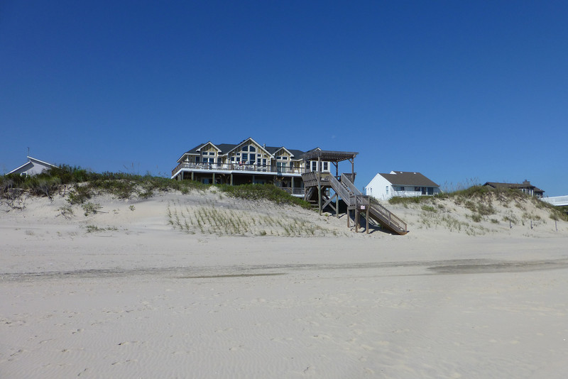 Our shack on the beach.