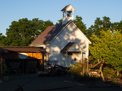 Schoolhouse at the Dufur HIstorical Society