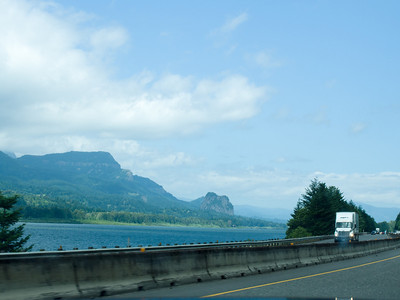 The view from I-84