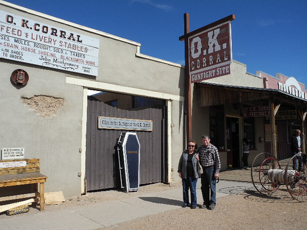 49 Bruce and Sue outside the OK Corral