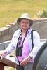 May 1, 2014 - (Dry Tortugas National Park [Garden Key] / Monroe County, Florida) -- Stephanie Schuppan on Fort Jefferson walls