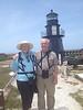 May 1, 2014 - (Dry Tortugas National Park [Garden Key] / Monroe County, Florida) -- MaryAnne & David on Fort Jefferson walls